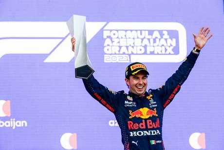 Sergio Pérez venceu em Baku