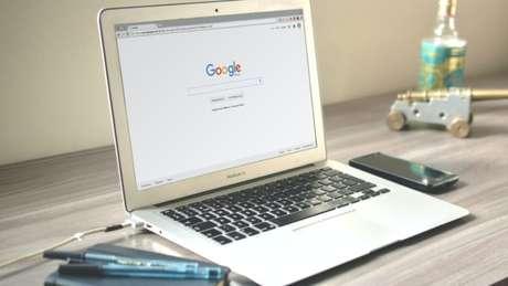 Google Chrome em um MacBook