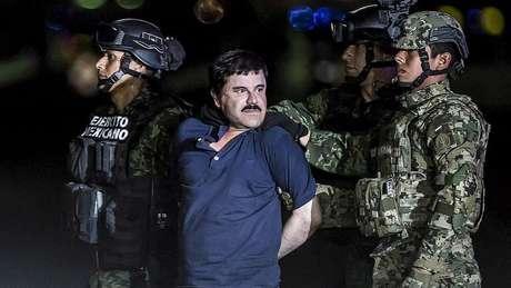 Joaquín Guzmán Loera foi capturado após uma ousada fuga de uma prisão mexicana