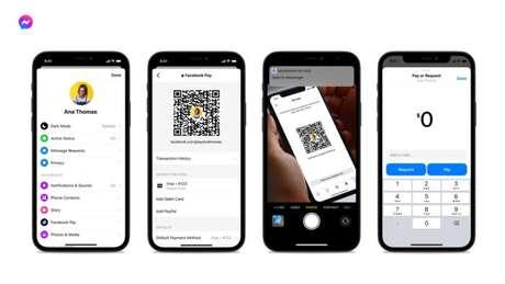 Nova forma de pagar usando o QR Code do Facebook Messenger