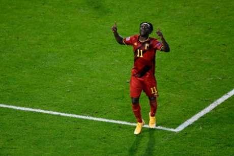 Doku já balançou as redes pela Bélgica (Foto: DIRK WAEM / BELGA MAG / AFP)