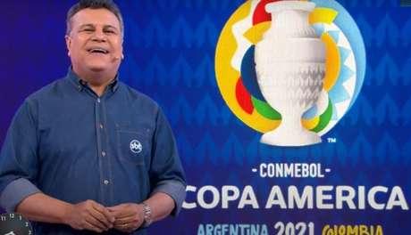 SBT detém os direitos televisivos da Copa América (Foto: Reprodução/SBT)