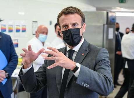Emmanuel Macron minimizou o incidente e disse sentir clima de otimismo na França