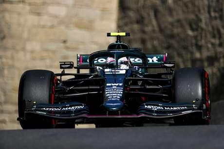 Sebastian Vettel teve grande atuação em Baku