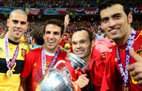 Espanha venceu a Euro 2012 (Foto: FRANCK FIFE / AFP)