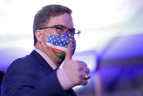 Embaixador dos EUA no Brasil, Todd Chapman, em Brasília, Brasil 28/04/2021 REUTERS/Ueslei Marcelino