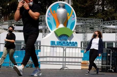 Roma se prepara para sediar jogo de abertura da Euro 2020, Itália 07/06/2021 REUTERS/Guglielmo Mangiapane
