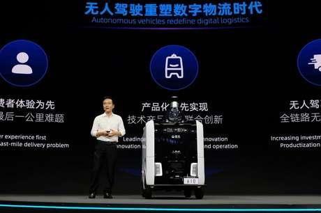 Presidente de tecnologia do Alibaba, Cheng Li, durante evento em Hangzhou, China  10/06/2021 REUTERS/Yilei Sun