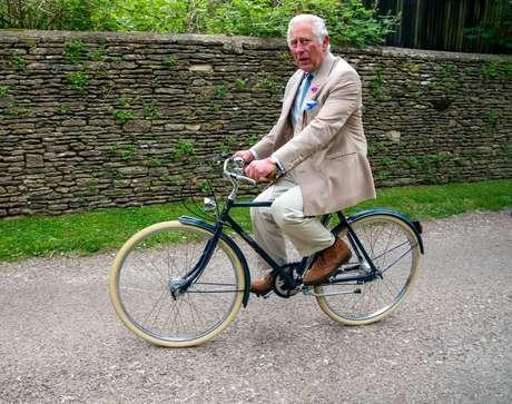 Príncipe Charles em Tetbury  10/6/2021   Arthur Edwards/Pool via REUTERS