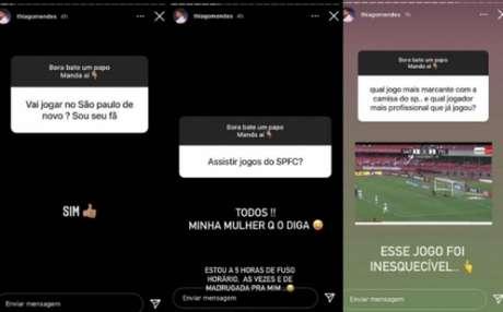 Thiago Mendes em seu Instagram(Foto: Reprodução/ Instagram)