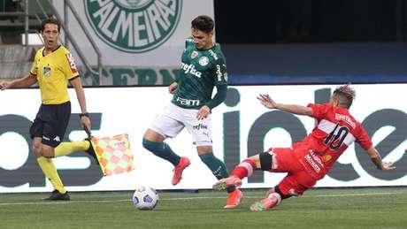 O Palmeiras foi derrotado pelo CRB no Allianz Parque (Foto: Cesar Greco/Palmeiras)