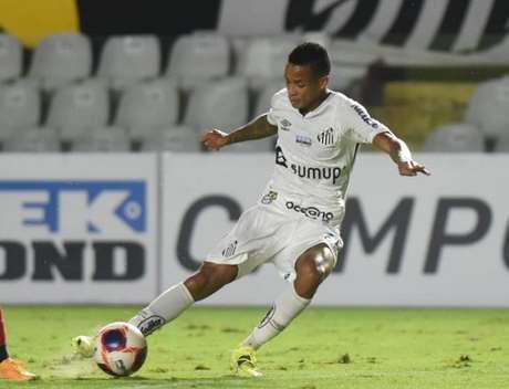 Allanzinho é visto como mais uma grande promessa da base do Peixe (Foto: Ivan Storti/Santos FC)