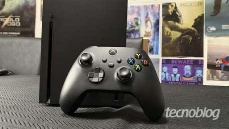 Xbox Series X é o atual console mais poderoso da Microsoft