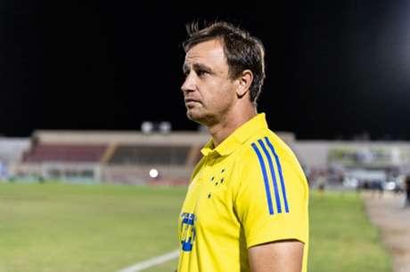 O comandante da Raposa não foi feliz nas mexidas e na postura de jogo do time diante da Juazeirense e acabou demitido-(Bruno Haddad/Cruzeiro)