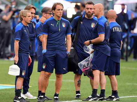 Seleção italiana realizou treino pré-Eurocopa