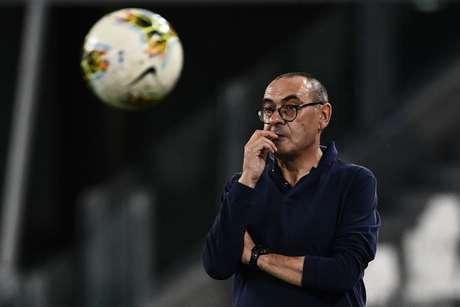Maurizio Sarri substitui Simone Inzaghi na Lazio (Foto: MARCO BERTORELLO / AFP)