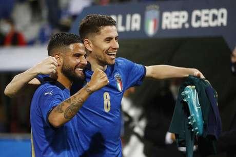 Jorginho é um dos ítalo-brasileiros da equipe da Itália