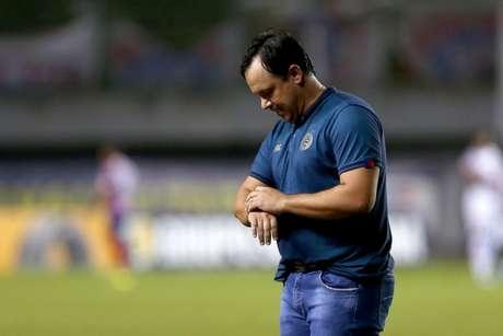 Treinador falou em 11 oportunidades claras de marcar (Felipe Oliveira/EC Bahia)