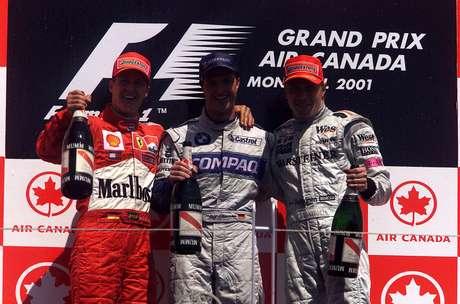 Ralf em primeiro, Michael em segundo: a Fórmula 1 teve dobradinha de irmãos 20 anos atrás