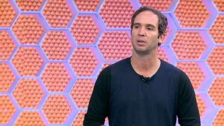 Caio Ribeiro durante o 'GloboEsporte SP' (Reprodução / TV Globo)