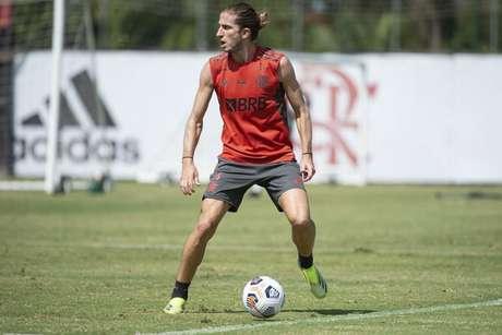 Filipe Luís chegou ao Flamengo no segundo semestre de 2019 (Foto: Alexandre Vidal/Flamengo)