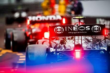 Atrás das Red Bull: esta é a visão da Mercedes no campeonato no momento.