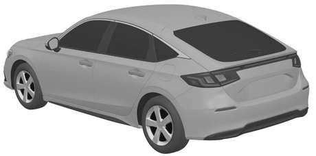 Novo Honda Civic hatch: lanternas traseiras interligadas por uma barra de led.