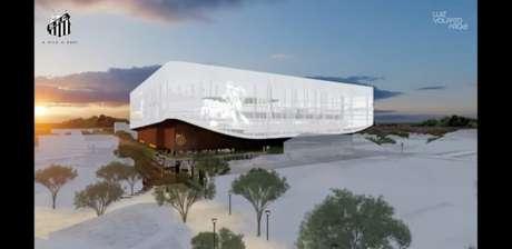 Projeto da Nova Vila Belmiro está sendo discutido desde o ano passado (Imagem: Reprodução)LANCE