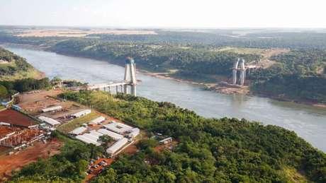 A usina de Itaipu enfrentou a pior estiagem da história em 2020