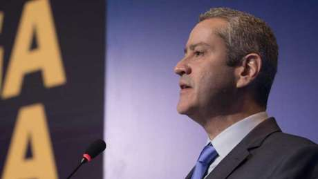 Rogério Caboclo está afastado da presidência da CBF (Foto: Lucas Figueiredo/CBF)