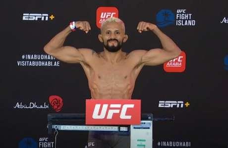 Deiveson Figueiredo encara Brandon Moreno neste sábado pelo UFC 263 (Foto: Reprodução/YouTube/UFC)