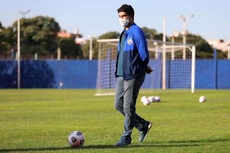 Executivo está há seis meses exercendo a função no tricolor (Felipe Oliveira/EC Bahia)