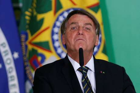 Presidente Jair Bolsonaro durante cerimônia no Palácio do Planalto 10/06/2021 REUTERS/Adriano Machado