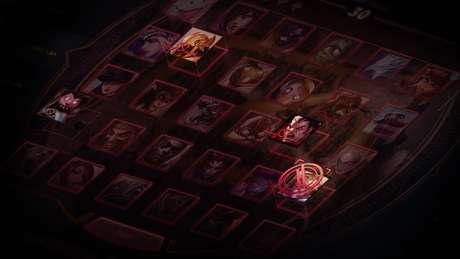 Sistema de banimento de campeões em League of Legends