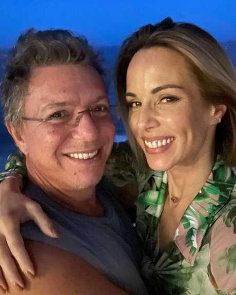 O casal Boninho e Ana Furtado.