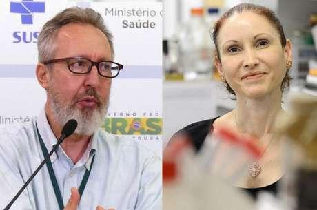 O médico sanitarista Maierovitch e a microbiologista Natalia Pasternak.