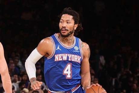 Derrick Rose, armador do Knicks