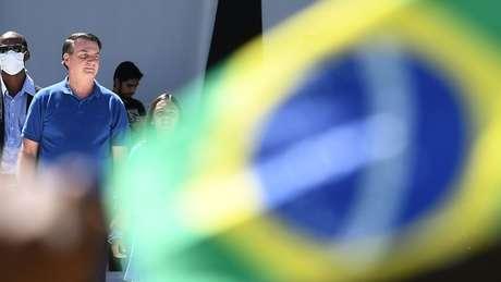 Na pandemia de coronavírus, Bolsonaro já apareceu sem máscara em diversas ocasiões