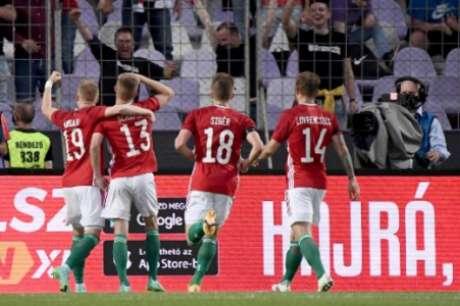 Húngaros chegam na Euro sem o seu principal jogador (Foto: ATTILA KISBENEDEK / AFP)