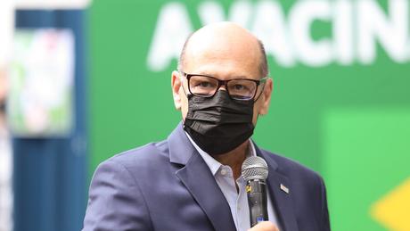 Dimas Covas teme que a quebra de patentes prejudique as propriedades intelectuais dos próprios institutos de pesquisa brasileiros