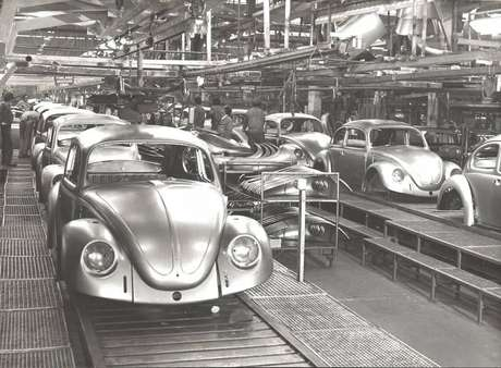Fusca fez parte da história da indústria automobilística brasileira.