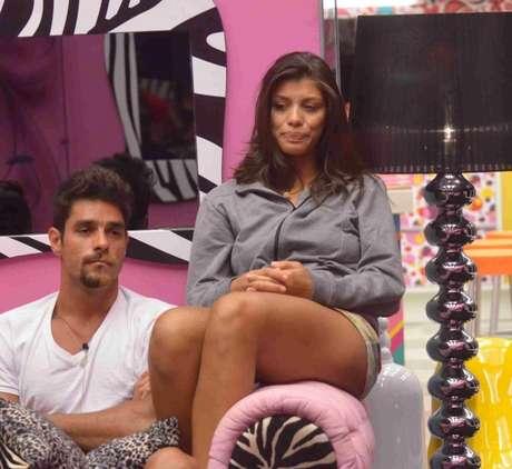Fran e Diego no BBB14. TV Globo/Reprodução