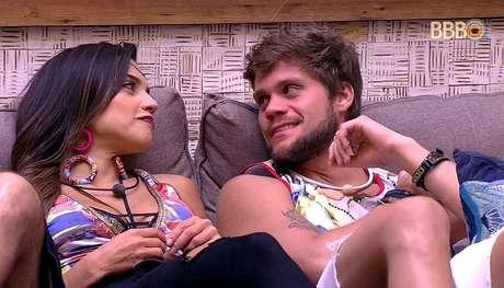 Paula e Breno no BBB18. TV Globo/Reprodução