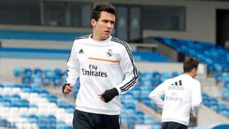 Pablo teve experiência no Real Madrid em 2014 (Foto: Divulgação/Real Madrid)
