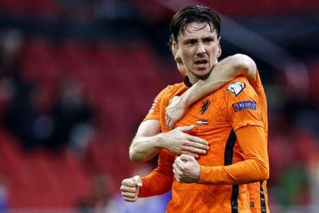 Holanda chega como favorita para o Grupo C da Eurocopa (Foto: MAURICE VAN STEEN/ANP/AFP)
