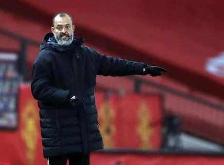 Nuno Espírito Santo deixou o Wolverhampton após quatro anos (Foto: MARTIN RICKETT/POOL/AFP)