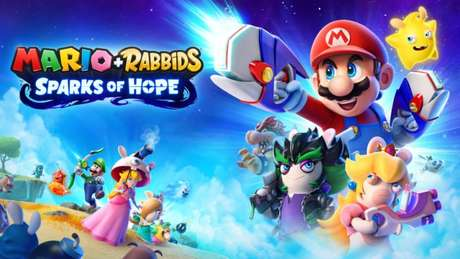 Mario plus Rabbids Sparks of Hope