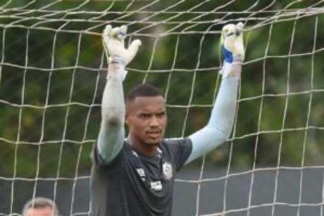 John é o atual goleiro titular do Peixe (FOTO: Ivan Storti/Santos FC)