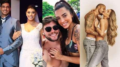 Fran e Diego, Paula e Breno, Aline e Fernando também estão na lista dos apaixonados.