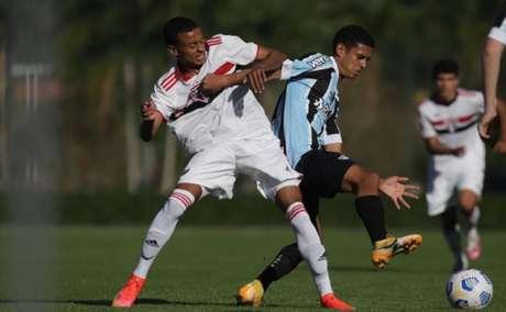 São Paulo e Grêmio ficaram no empate em Cotia (Foto: Rahel Patrasso/Saopaulofc.net)